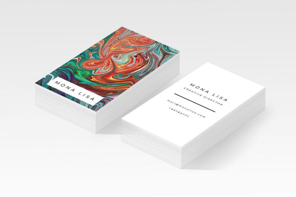 עיצוב כרטיס ביקור דגם שלישי
