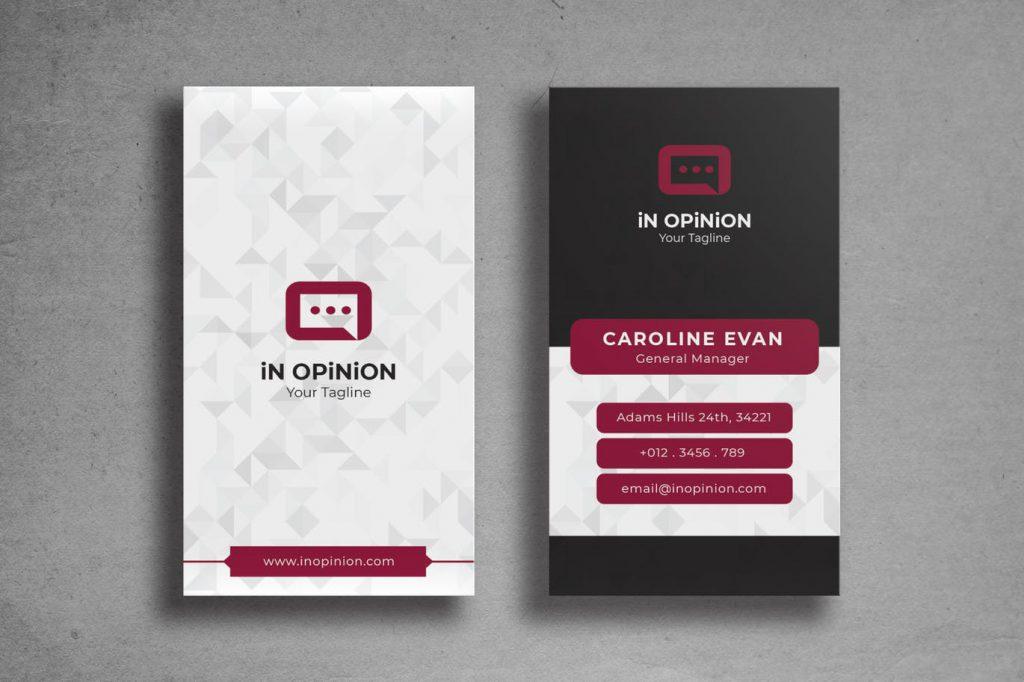 עיצוב כרטיס ביקור ראשון